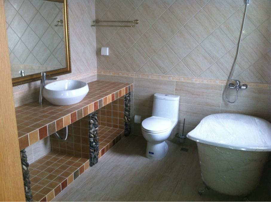 洗手间装修效果图 银民装饰
